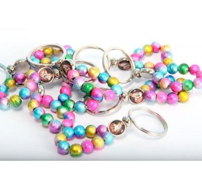 Obesek za ključe s perlami