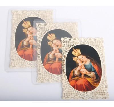 Podobica z Marijo Pomagaj v okvirju
