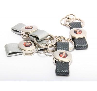 Obesek za ključe s podobo Marije Pomagaj - trak