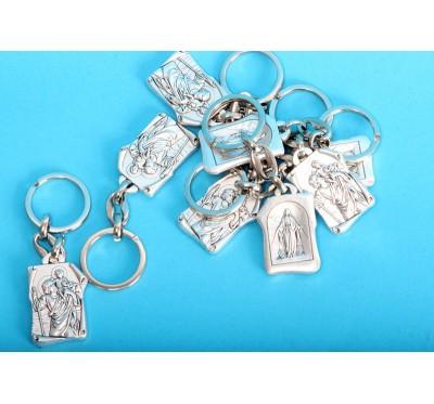 Kovinski obesek za ključe s sv. Krištofom