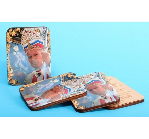 Lesen magnet s podobo sv. Janeza Pavla II.